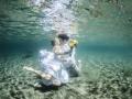 "Underwater ""I do"""